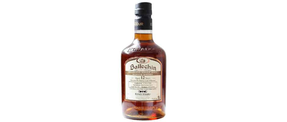 ballechin 2004 12 years old kirsch whisky