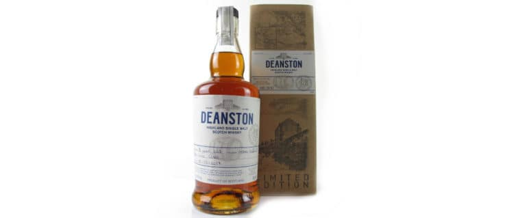 deanston 8 years old red wine cask 2017 handfilled