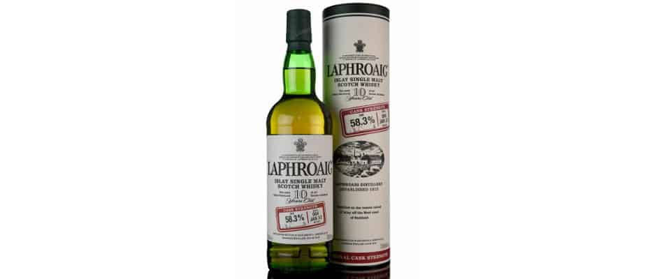 laphroaig 10yo cask strength batch #004