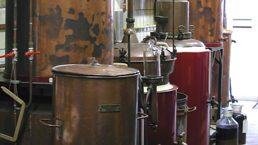 van Wees distillery