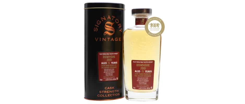 bowmore 2001 15 years old signatory vintage the whisky exchange