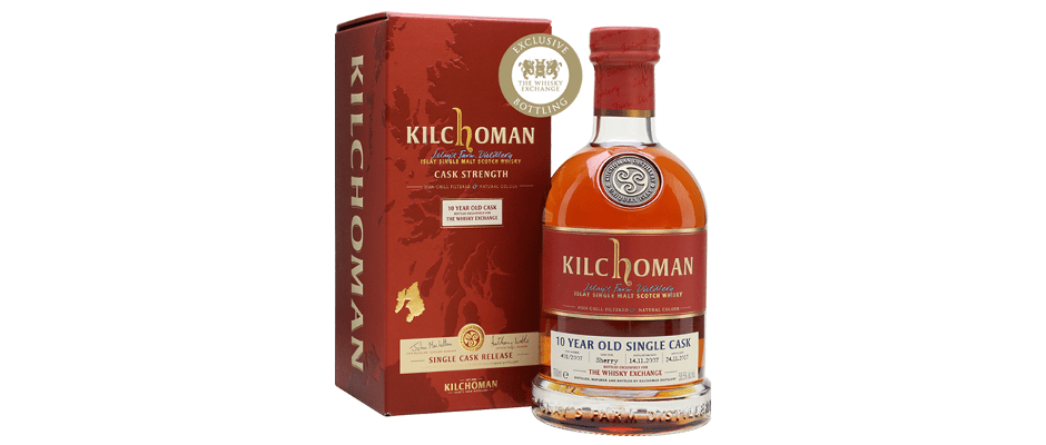kilchoman 2007 10 years old the whisky exchange
