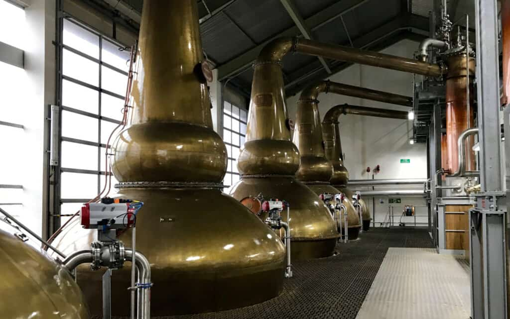 Clynelish spirit stills