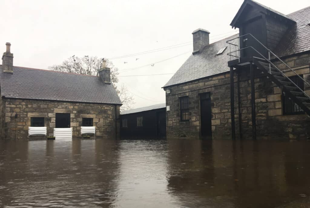 brora distillery flood