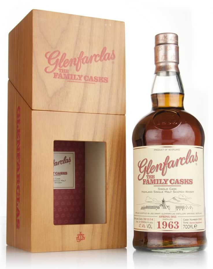 glenfarclas 1963 51 years old cask 3541