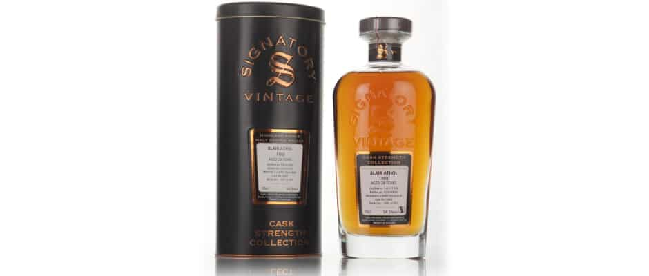 blair athol 1988 28 years old signatory vintage