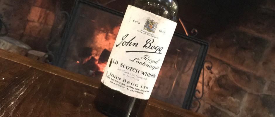 John Begg Royal Lochnagar 1930s