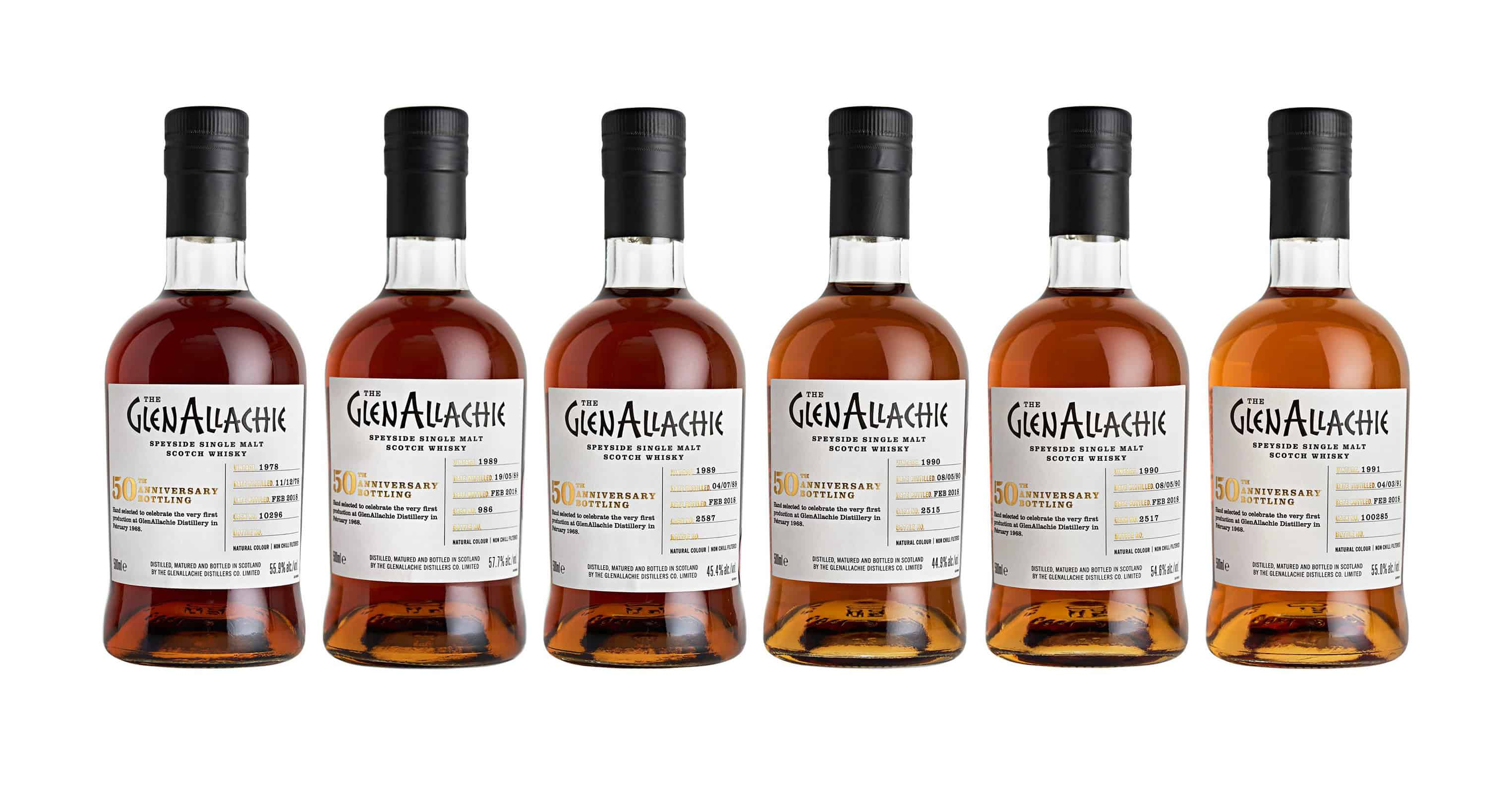 the glenallachie 50th anniversary single casks