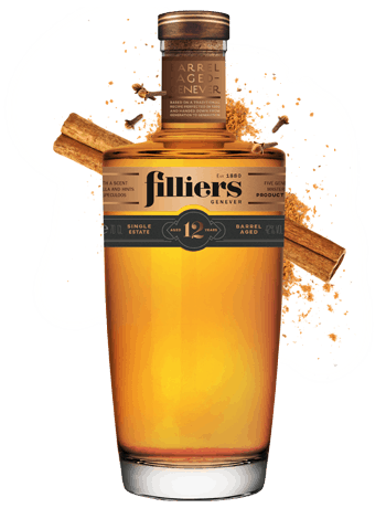 filliers 12 years old barrel aged genever