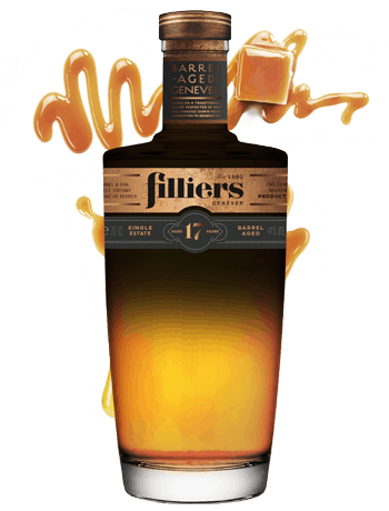 filliers 17 years old barrel aged genever