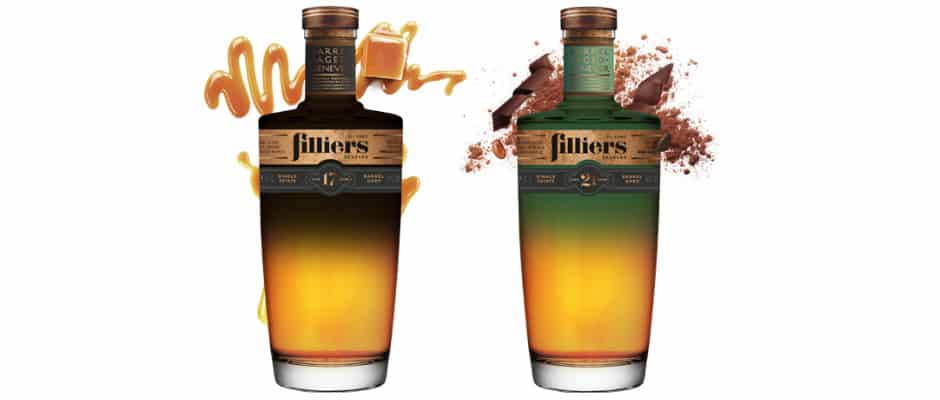 filliers 17yo & 21yo barrel aged genever