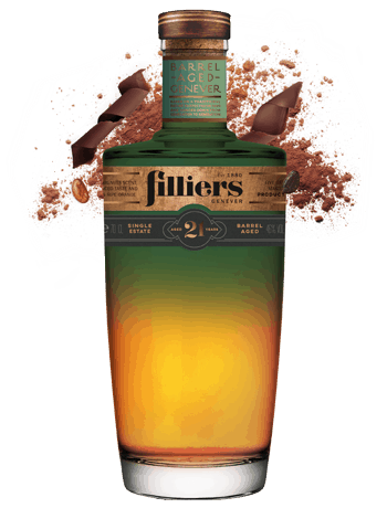 filliers 21 years old barrel aged genever