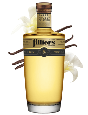 filliers 8 years old barrel aged genever