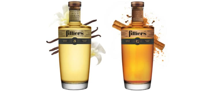 filliers 8yo & 12yo barrel aged genever