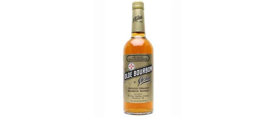 j.w. dant olde bourbon