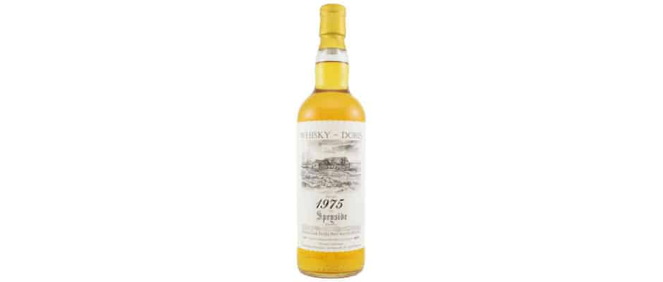 Speyside distillery 1975 41 years old whisky-doris