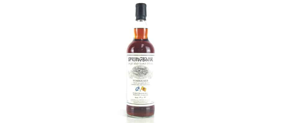 springbank 1996 21 years old starkicker