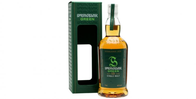 springbank 13 years old green