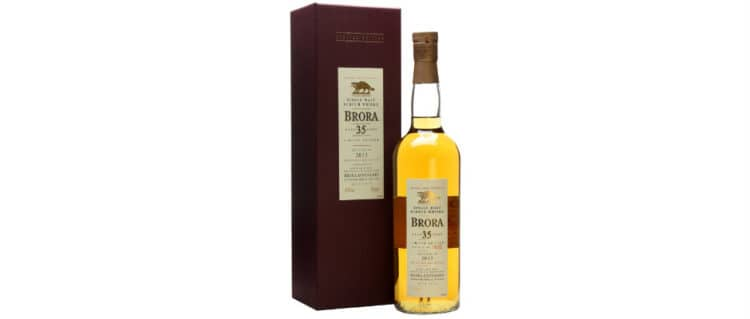 Brora 12th release 35 years old