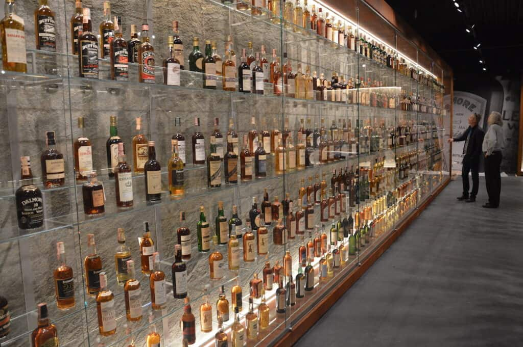 The collection consists of over 3,000 bottles.