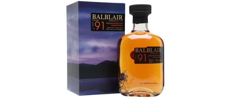 balblair 1991 27 years old 3rd release