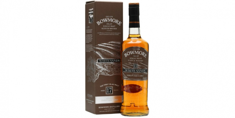 Bowmore 17 years old White sands