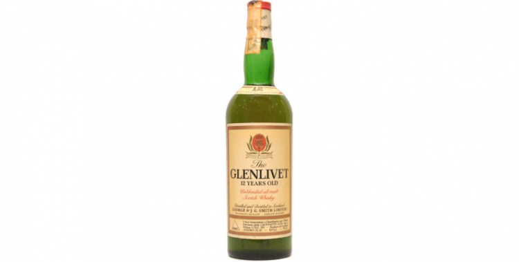 glenlivet 12 years old 1980s