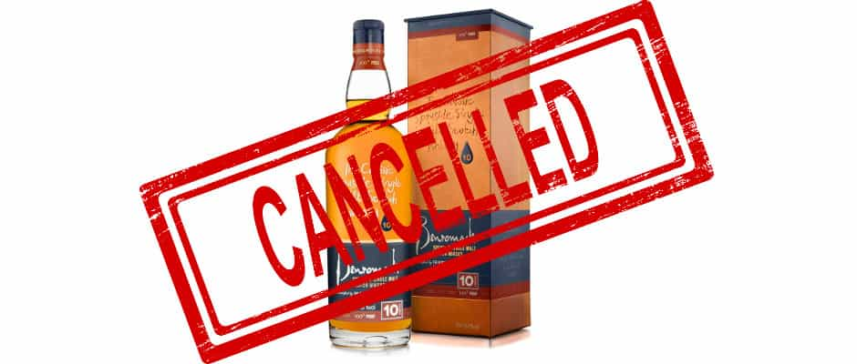 benromach 10yo 100 proof discontinued