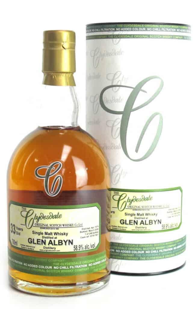 glen albyn 1974 33 years old clydesdale