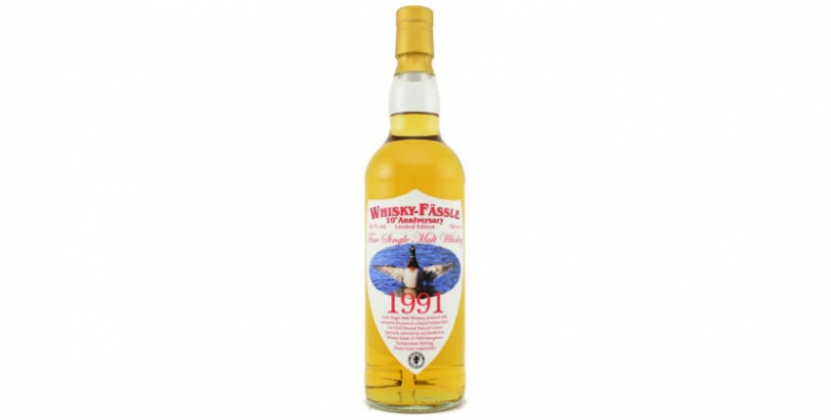 irish single malt 1991 24 years old whisky fassle