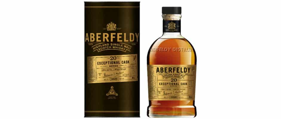 Aberfeldy 20 Years Old Exceptional Cask Series (2019) – Words of Whisky