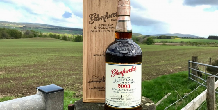 glenfarclas 2003 16 years old spirit of speyside distillery exclusive