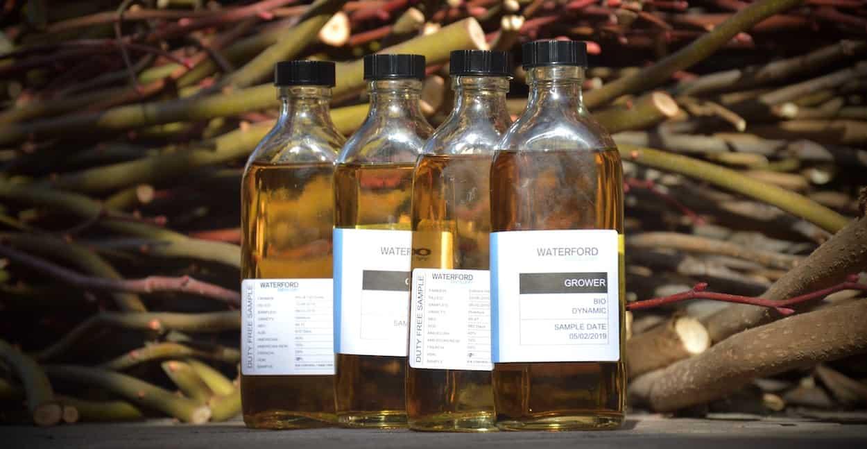 Waterford Cask Samples Organic Single Farm Biodynamic