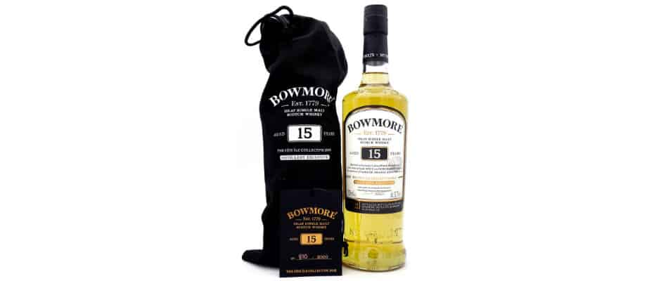 bowmore 15 years old feis ile 2019