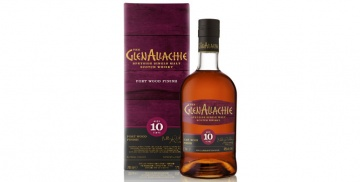 glenallachie 10 years old port wood finish