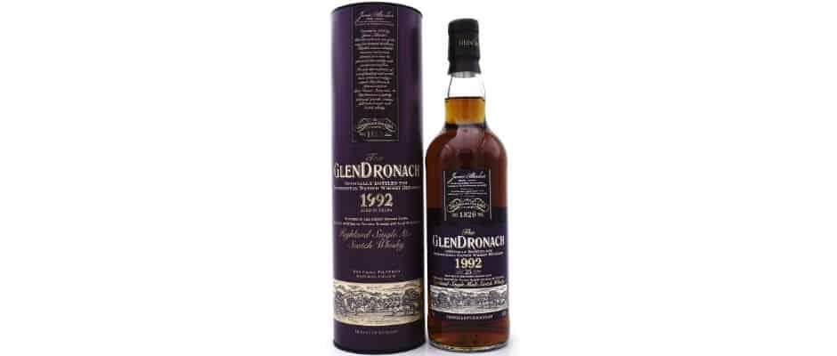 glendronach 1992 25 years old danish whisky retailers mace windu