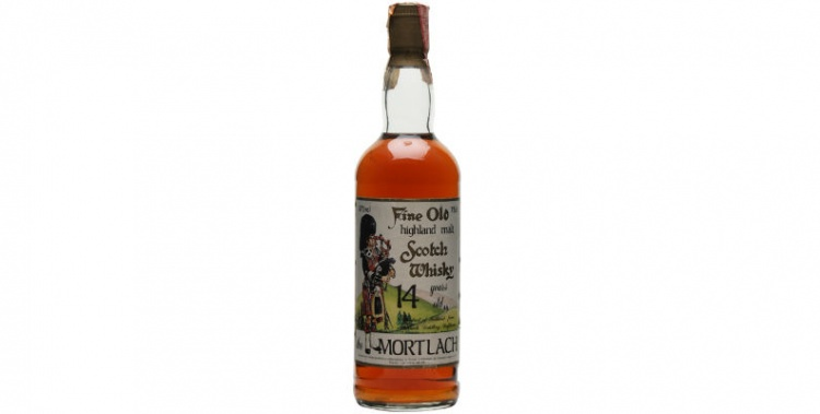 mortlach 14 years old sestante 100 proof
