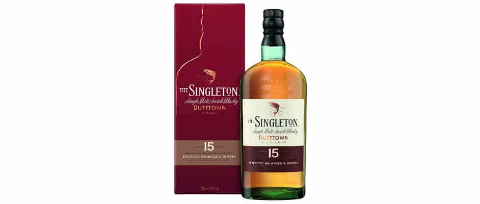 singleton of dufftown 15 years old