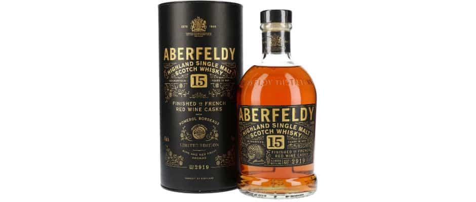 aberfeldy 15 pomerol limited edition