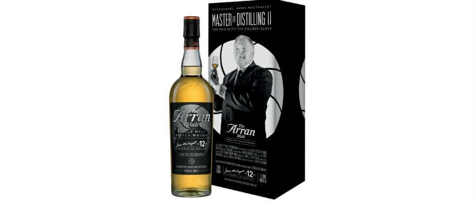 arran 2006 12 years old master of distilling ii james mactaggart
