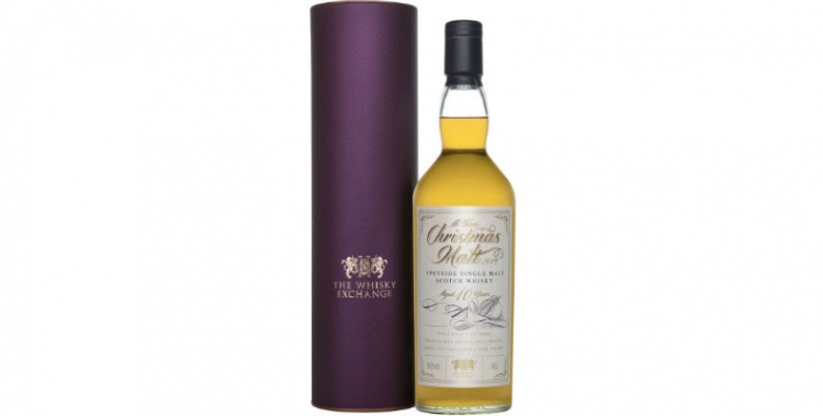 linkwood 10 years old christmas malt whisky exchange