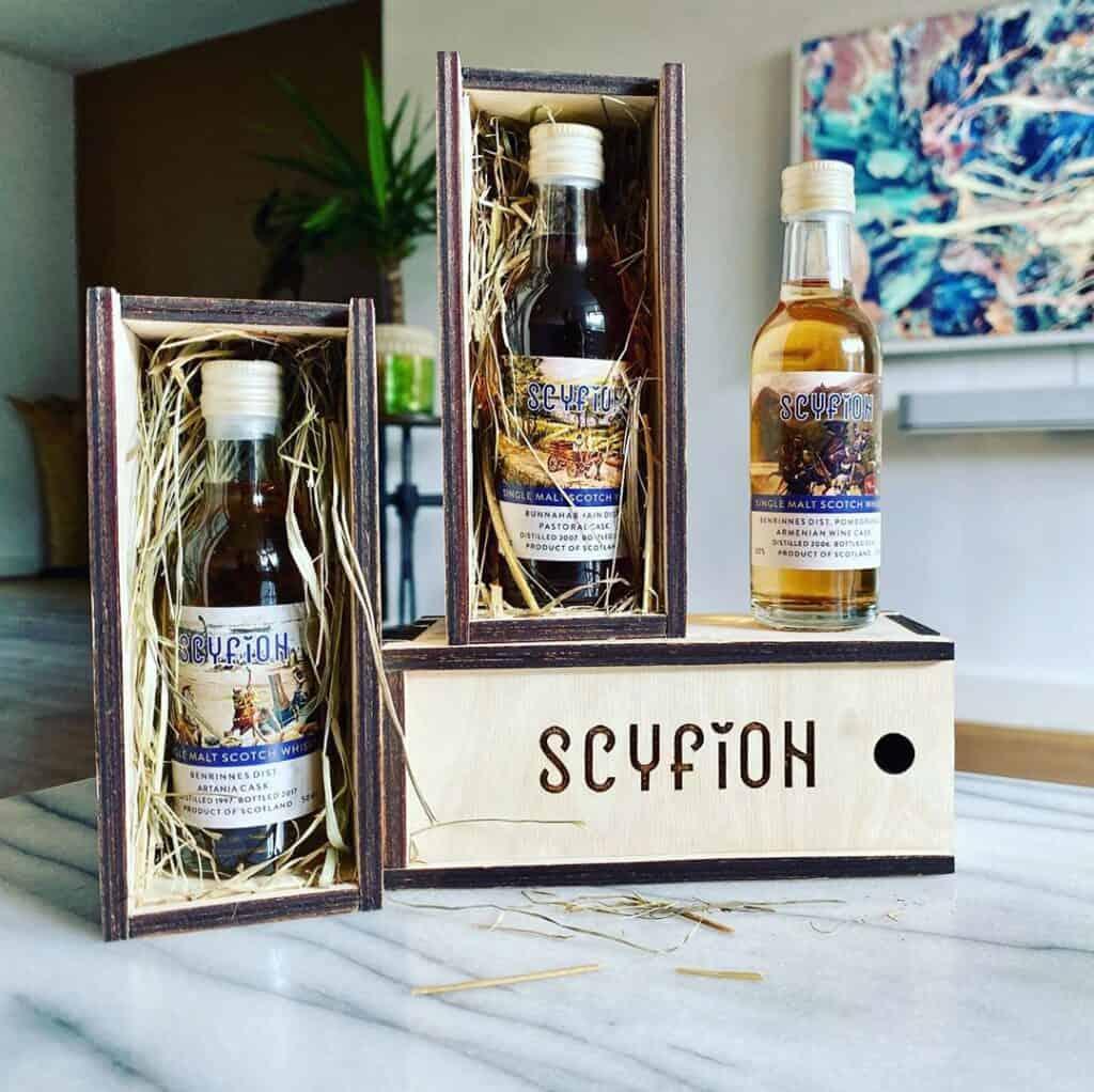 scyfion whisky samples