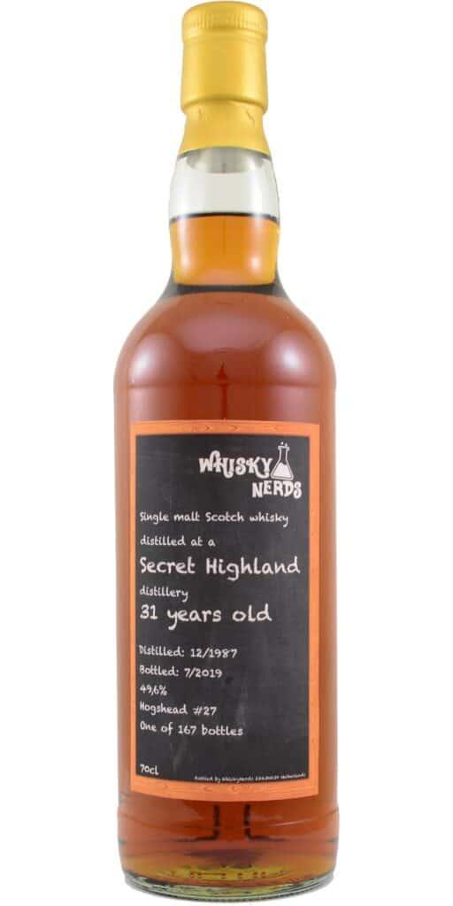 secret highland 1987 31yo whiskynerds