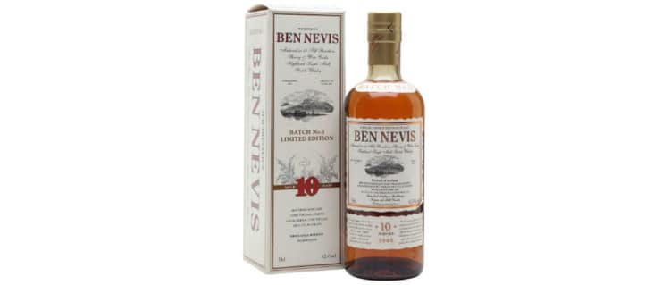 ben nevis 10yo cask strength 2008 batch 1