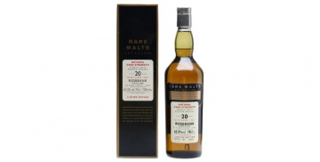 rosebank 1981 20yo rare malts selection