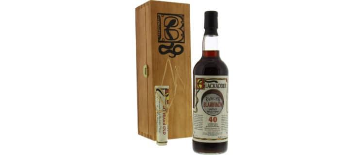 glenfarclas 1963 blairfindy blackadder 40yo