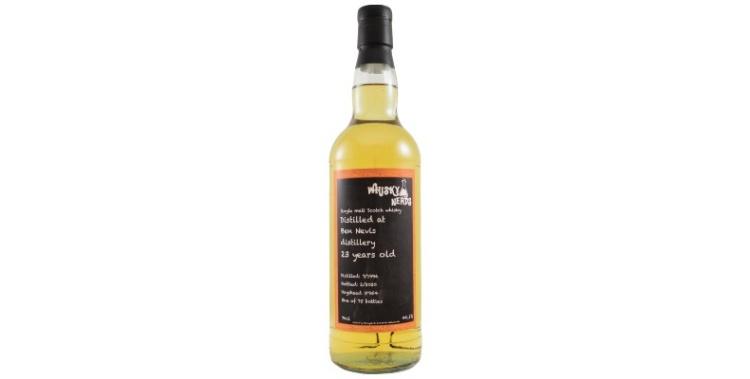 ben nevis 1996 23yo whiskynerds 954