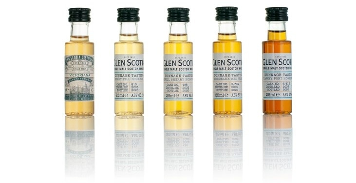 glen scotia dunnage tasting kit 2