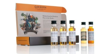 glen scotia dunnage tasting kit