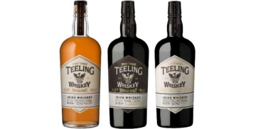 teeling irish whiskey core range trinity collection small batch